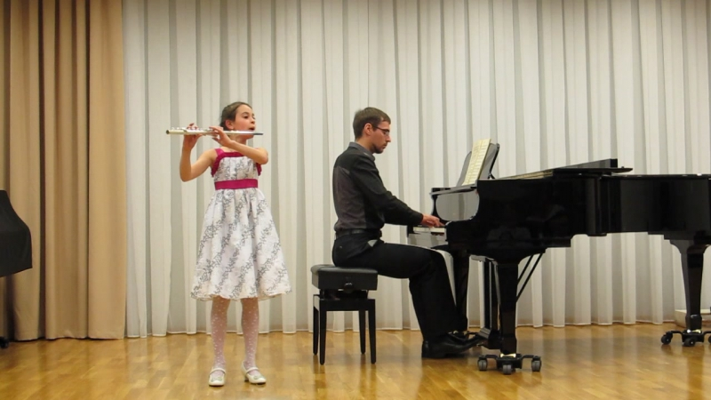 Haydn's flute minuet by Alice смотреть онлайн без регистрации