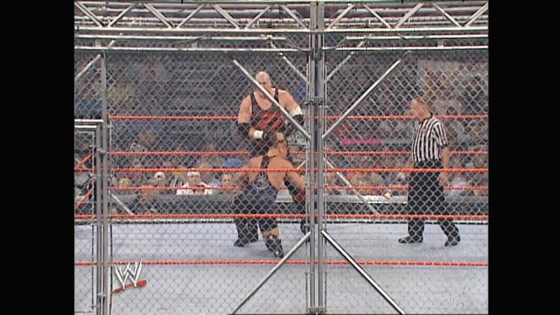 Kane vs. RVD - Steel Cage Match Raw 2003