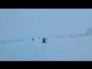 Роза Хутор. Снег и ветер 💨❄️
