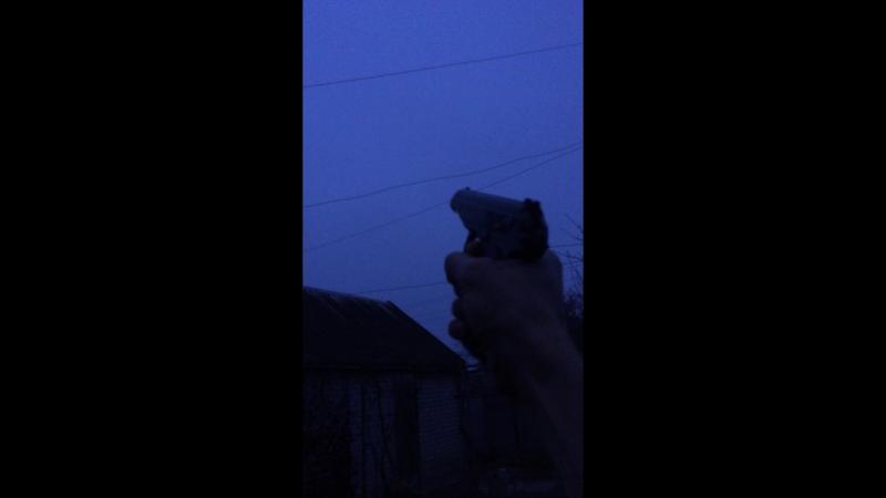 Выстрел из ПМ-СХ 1953