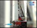 76 человек эвакуировали из горящей больницы в Черемхово