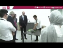 Prince William visits the Crown Prince Foundations FabLab