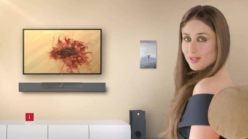 Карина Капур Кхан в рекламе TVC для бренда iBall India