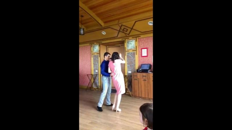 Танец РАдик ТАмам и Русик Саида