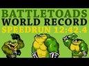 World Record Battletoads Any% No WW in 12 42 4