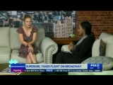 Supergirl actress Melissa Benoist stars as Carol King in Broadway show Beautiful. - Source