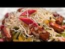 Братский салат из ревеня и тофу 7 нот вегетарианской кухни
