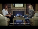 Интервью ELLE- Екатерина Мухина и Каролин де Мегрэ