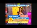 Румынская телеведущая ругается на телефон