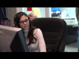 Adult film star Ariana Marie in studio for The Morning After