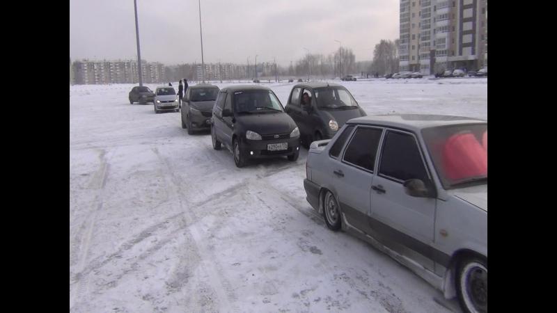 Фрагмент тренировки на Виртуоз парковки 3