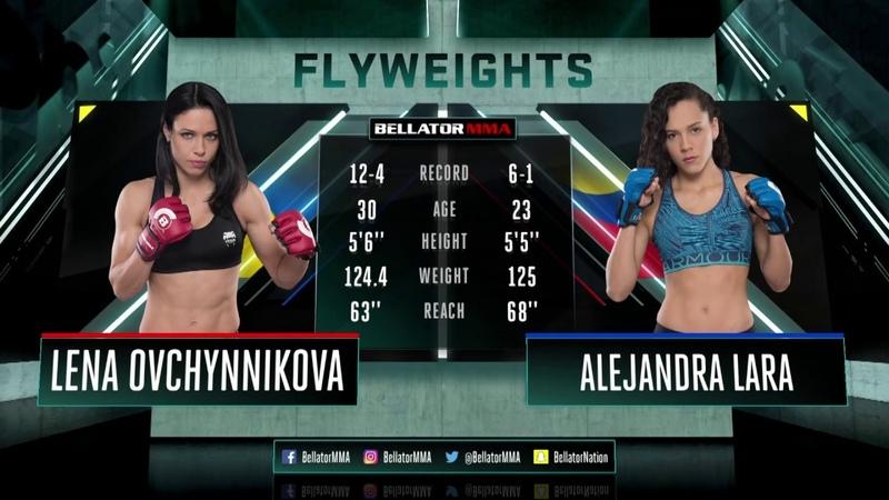 Bellator 190: Alejandra Lara vs. Lena Ovchynnikova - FULL FIGHT