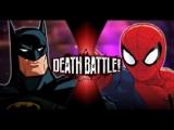 Batman VS Spider-Man (DC VS Marvel) _ DEATH BATTLE