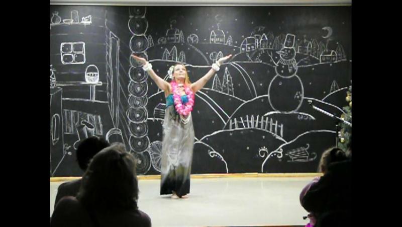 Nani Ahiahi в исполнении гавайской группы школы танцев Амина (Оксана Ушакова)