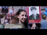 Сотрудники кинокомпании «Союз Маринс Групп» приняли участие в шествии Бессмертного полка