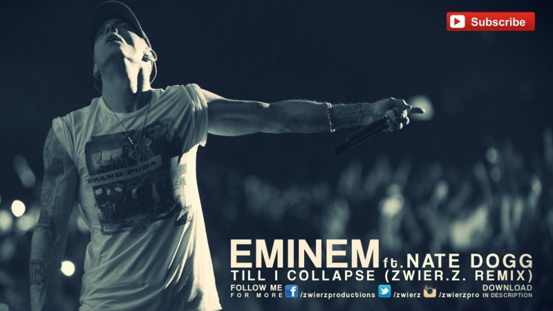 Eminem feat Nate Dogg Till I Collapse Rock Remix by zwieR Z