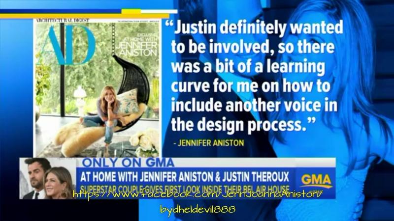 Sneak peek of Jennifer Aniston and Justin Theroux's California home on GMA