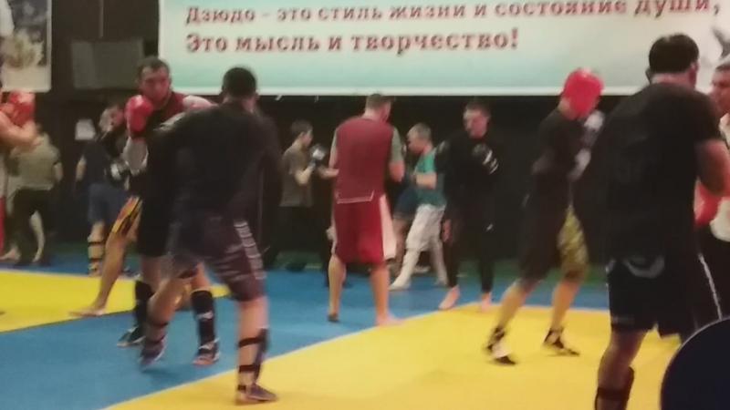 СПАРРИНГИ на РСК Олимпийском
