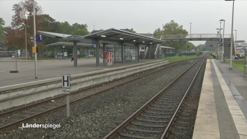 Millionenteurer Bahnsteig ohne Züge - Hammer der Woche vom 30-09-2017 - ZDF