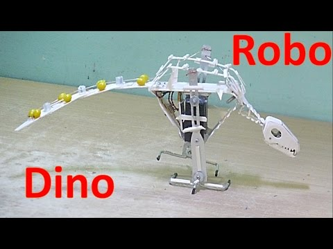 How to make a Walking Robot Dinosaur