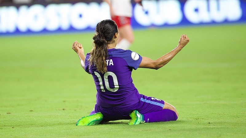 GOAL Marta scores the game-winner for the Orlando Pride