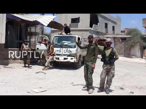 Syria: SAA re-captures town of al-Nu'aima on Daraa outskirts