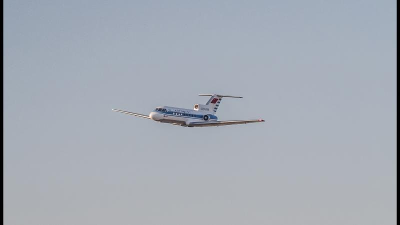 Авиамодель ЯК 40