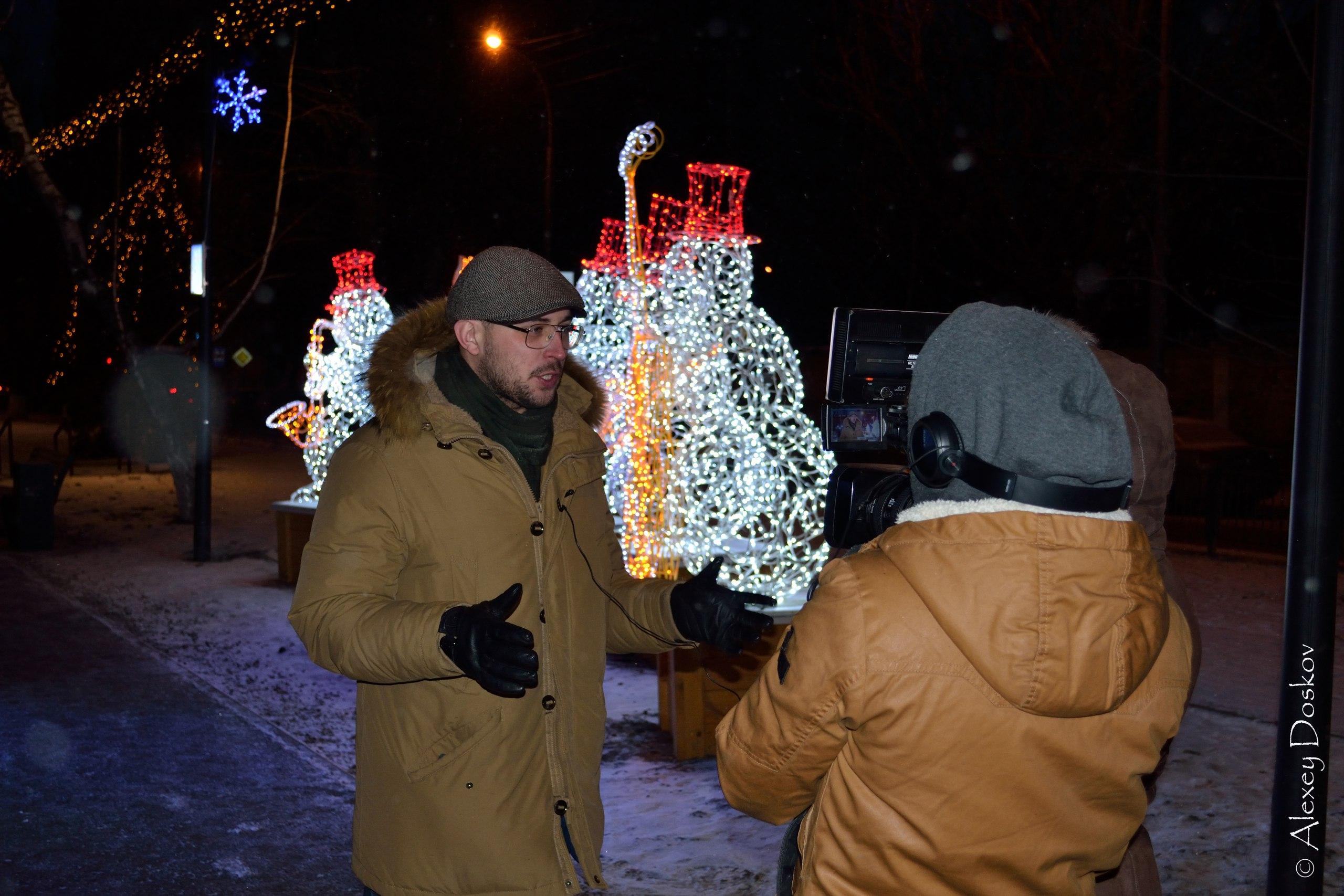 Репетиция съемки клипа #СнегоХит