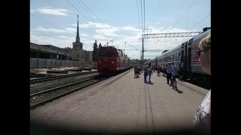 Прибытие скорого поезда №226C Адлер-Мурманск