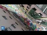 Вот как раскрасили старейшую улицу в Чайнатауне Нью-Йорка!