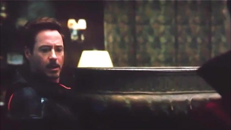 Tony Stark and His Team - Avengers Infinity War