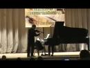 Минеева Татьяна, Ферапонтов В.Е. лауреаты III степени Всероссийского конкурса пианистов-концертмейстеров
