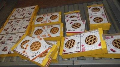 Курские таможенники изъяли 1,5 тонны лишних сладостей из Италии
