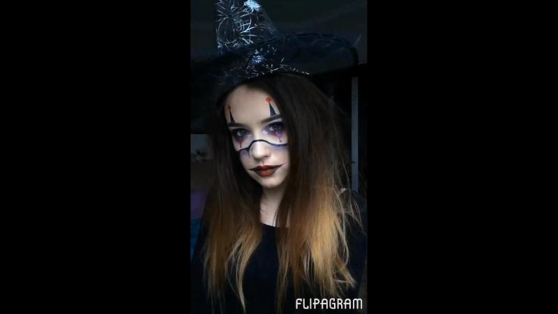 Образ на Хэллоуин 🎃🦇