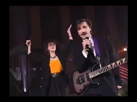 Ядвига Поплавская и Александр Тиханович на вечере Афанасьевой 1996
