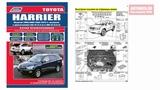 Руководство по ремонту Toyota Harrier 2003-2012, рестайлинг с 2006 бензин