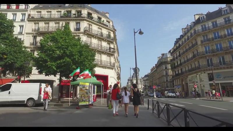 Прогулка по Парижу от ст.метро Лувр-Риволи до ст.метро Шатле
