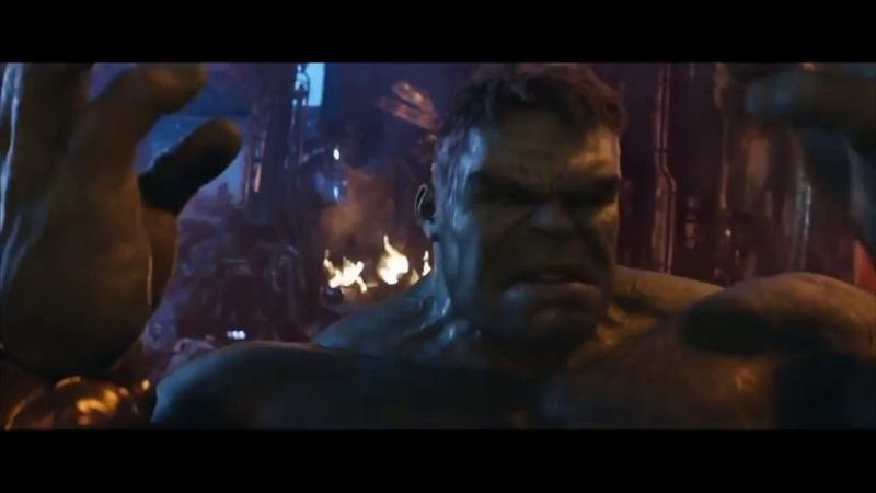«Мстители: Война бесконечности» (Avengers: Infinity War) - We Have A Hulk Behind the Scenes Exclusive VFX Breakdown (Hulk Vs Thanos)