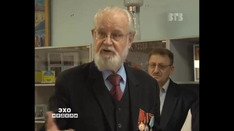 Открытие школьного музея в СОШ №1 МУЗЕИ РДШ ПОИСК РФ Скопин Рязанской