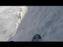 Сноубордист выжил при сходе лавины