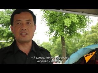 В Китае придумали обливать пешеходов-нарушителей