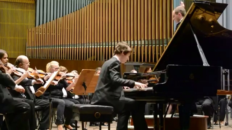 Владислав Хандогий С.Рахманинов Концерт для фортепиано с оркестром 2