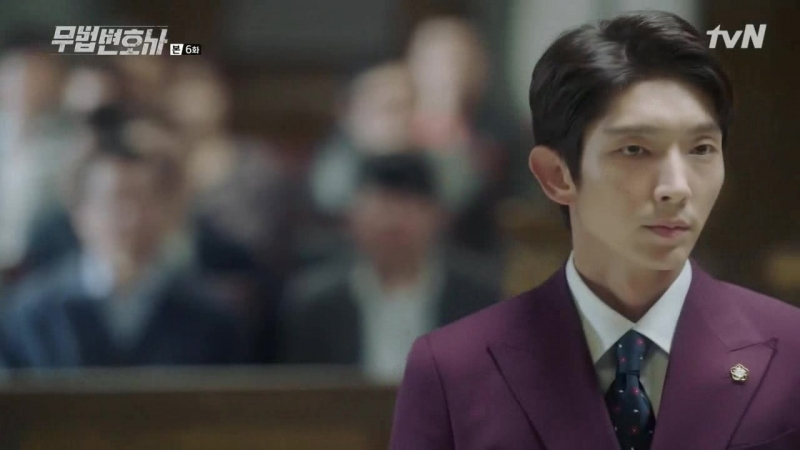 [The Witch's Hut] Адвокат вне закона / Lawless Lawyer 6/16 [рус.саб.]