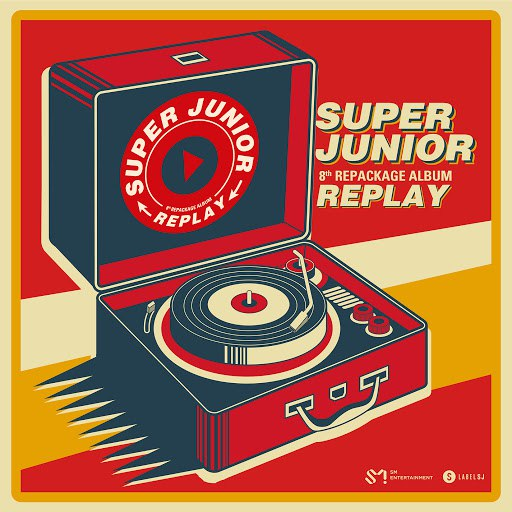 Super Junior альбом REPLAY - The 8th Repackage Album