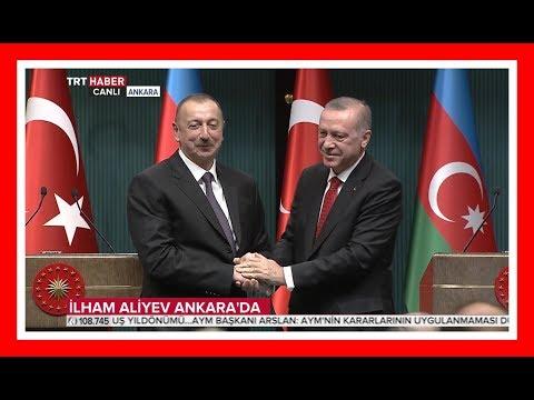 Cumhurbaşkanı Erdoğan İle Azerbaycan Cumhurbaşkanı İlham Aliyev'in Ortak Açıklamaları 25.4.2018