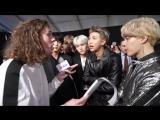 INTERVIEW 171120 Интервью BTS с премии AMAs о послании Love Yourself, кампании UNICEF, о музыкальном развитии @ J-14, США