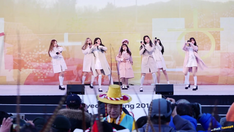 180123 | Lovelyz - Twinkle | 2018 PyeongChang Winter Olympics Torch Relay Celebration Event