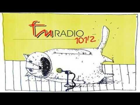 Апошнія хвіліны эфіру «Радыё 101.2 FM»