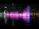 Цветные фонтаны Шарджы