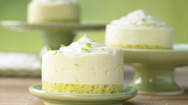 Бисквитные тортики с сливочным кремом